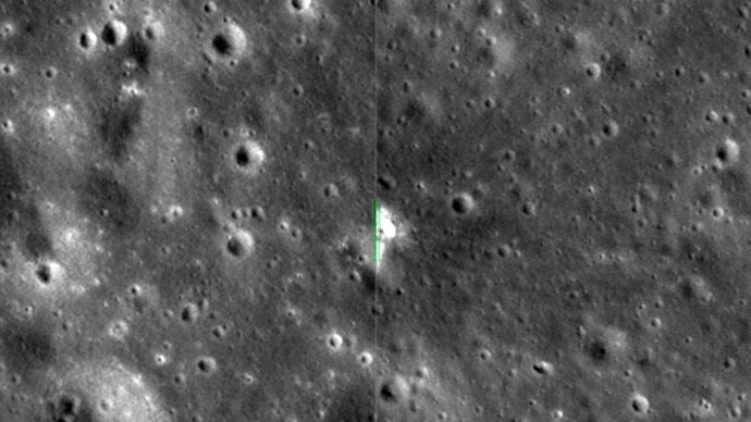 NASA orbiter records new crater on the Moon (VIDEO)