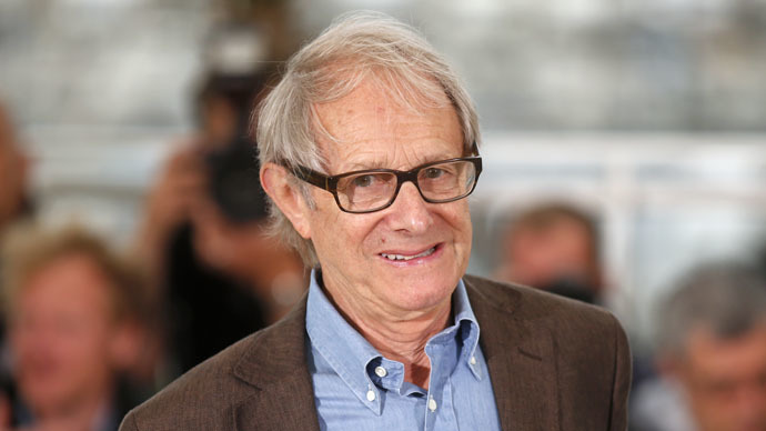 British political activist and film director, Ken Loach. (Reuters/Benoit Tessier)