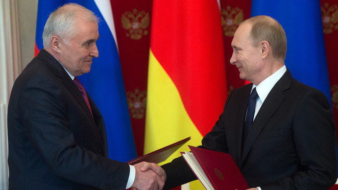 Russia signs major alliance treaty with South Ossetia, pledges military protection