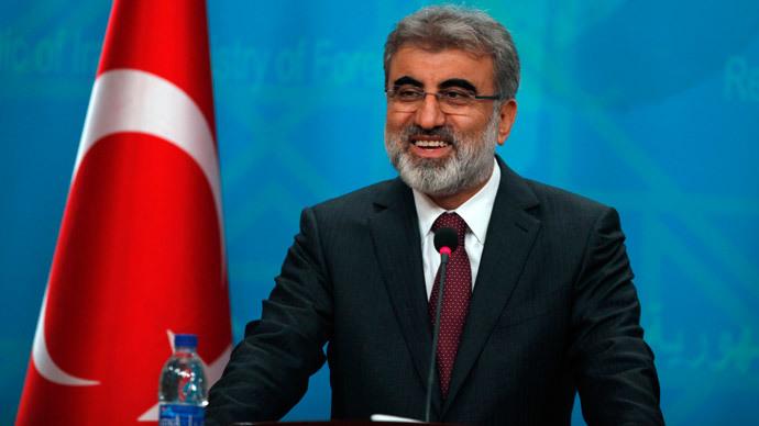 Turkey's Energy Minister Taner Yildiz (Reuters / Ahmed Saad)