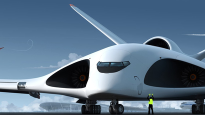 Artist concept of future Russian Special Purpose Aircraft (Concept: Aleksey Komarov, Customer and Technical Manager: Volga-Dnepr Group)