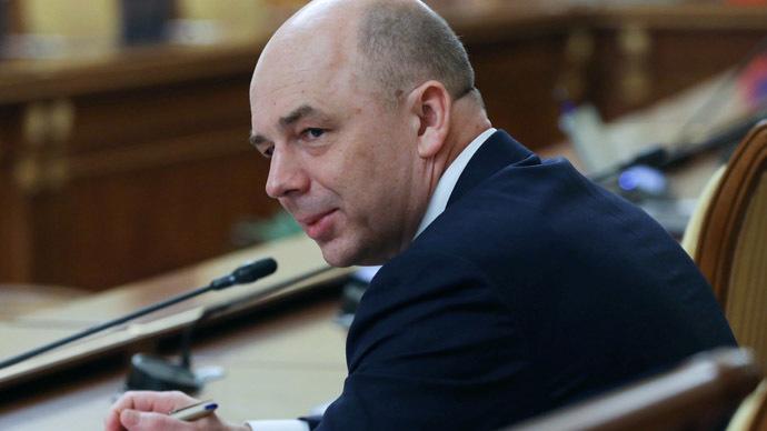 March 19, 2015. Finance Minister Anton Siluanovю (RIA Novosti / Ekaterina Shtukina)