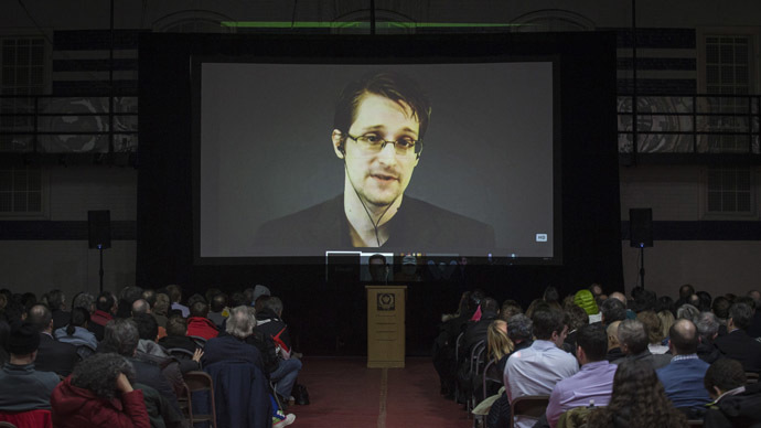 Former NSA contractor Edward Snowden. (Reuters / Mark Blinch)