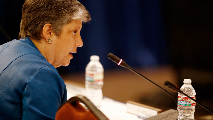 Caught on camera: Janet Napolitano calls anti-tuition-hike student protest 'crap'