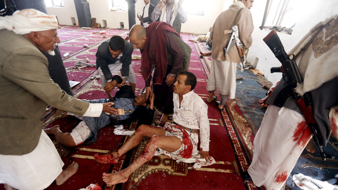Dozens dead in Yemen mosques bombings, ISIS 'claims' responsibility (GRAHIC IMAGES)