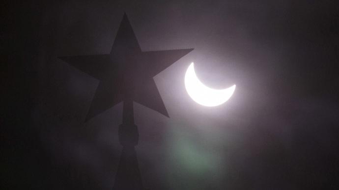 Supermoon solar eclipse thrills sky gazers (PHOTOS, VIDEOS)