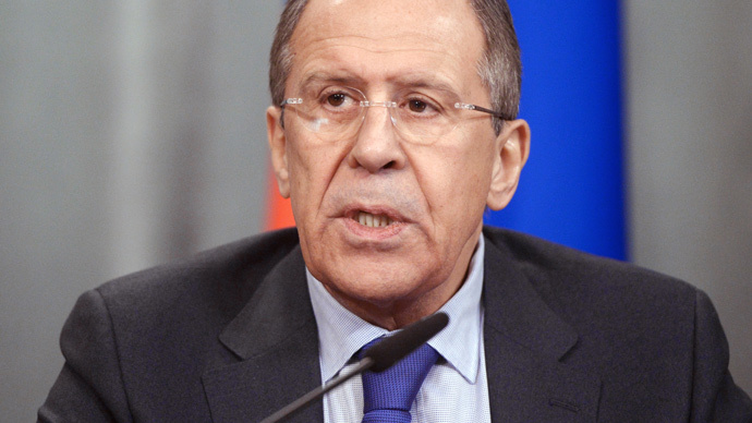 Russian Foreign Minister Sergey Lavrov (RIA Novosti / Grigoriy Sisoev)