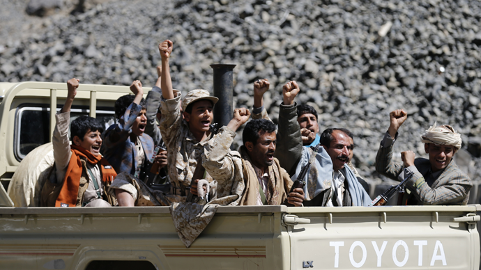 Houthi rebels  (Reuters / Khaled Abdullah)