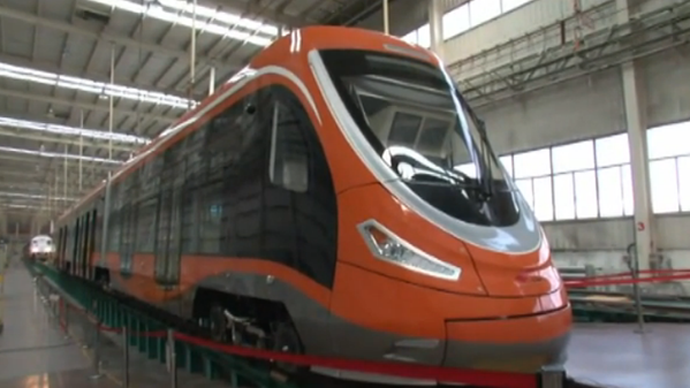 Smog-beater: First hydrogen powered tram developed in China