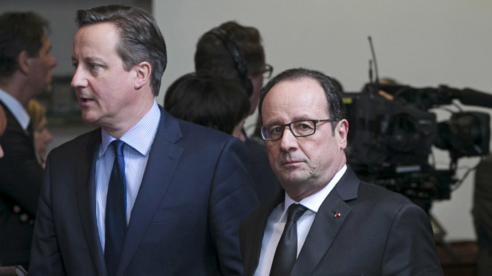 ​Provocateur: Cameron ridicules France economy in jab at UK opposition