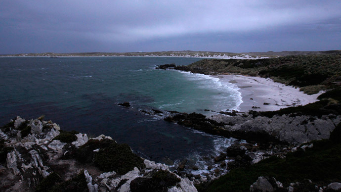​'Chill out', look at Falklands, Russian MP tells UK over Crimea demand