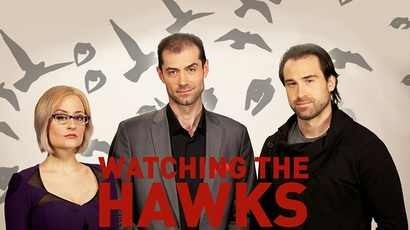 'Watching the Hawks' strikes a chord: How politics influences art