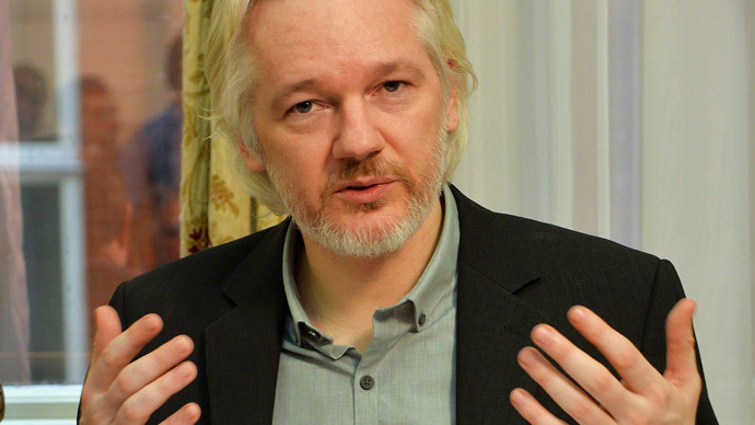 WikiLeaks founder Julian Assange.(Reuters / John Stillwell)