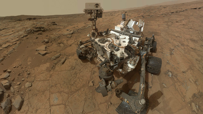 Curiosity.(Reuters / NASA)