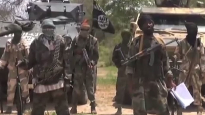 Boko Haram fighters (Still from YouTube video)