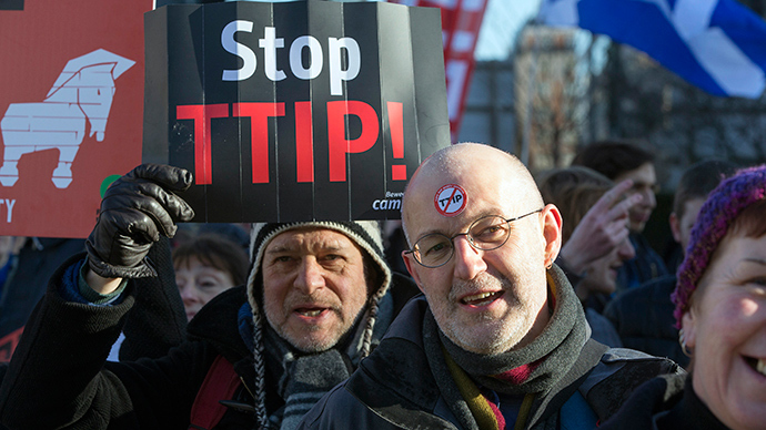 'Opaque & undemocratic': TTIP a threat to NHS & public services, say MPs