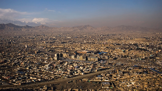 A general view of Kabul (Reuters / Marko Djurica)