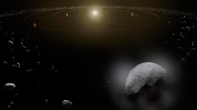 shooting asteroids from earth view - photo #18