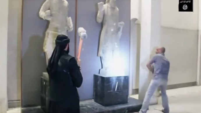 Artifact destruction by ISIS is act of 'heritage terror' – Islamic art professor