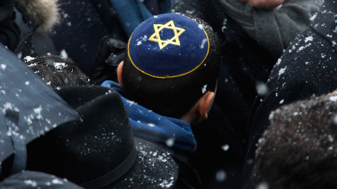 ​'Humiliating': French rabbi told to take off kippa before voting at polling station
