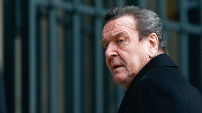 Former German Chancellor Gerhard Schroeder.(Reuters / Hannibal Hanschke )