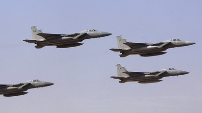 Royal Saudi Air Force jets. (Reuters / Fahad Shadeed)