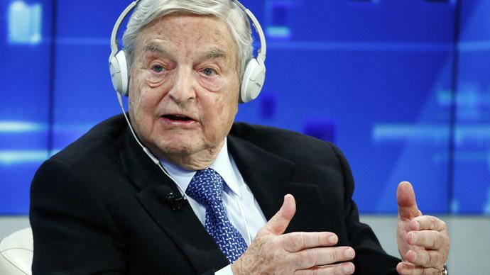 Georges Soros (Reuters/Ruben Sprich)
