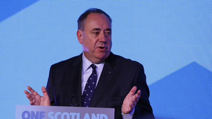Scotland's First Minister Alex Salmond. (Reuters/Russell Cheyne)