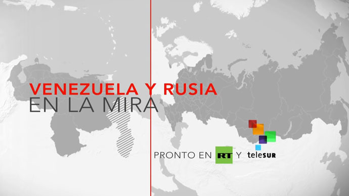 RT and Venezuela TeleSUR journalists unite to provide fresh perspective on news
