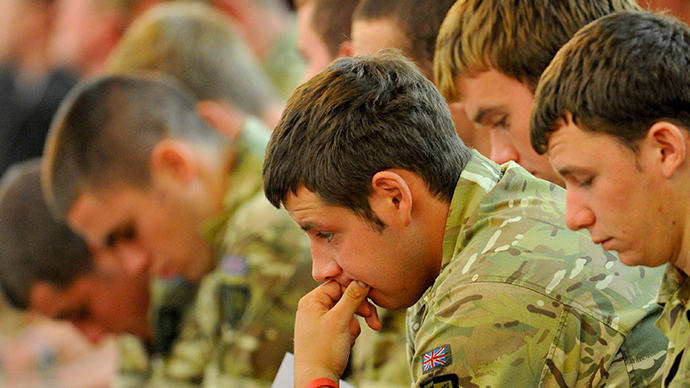 ​6 veterans per day seeking post-traumatic stress help – military charity