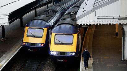 Paddington Station in London (Reuters / Luke MacGregor)