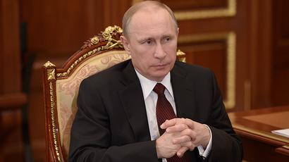 Russian President Vladimir Putin (RIA Novosti / Aleksey Nikolsky)