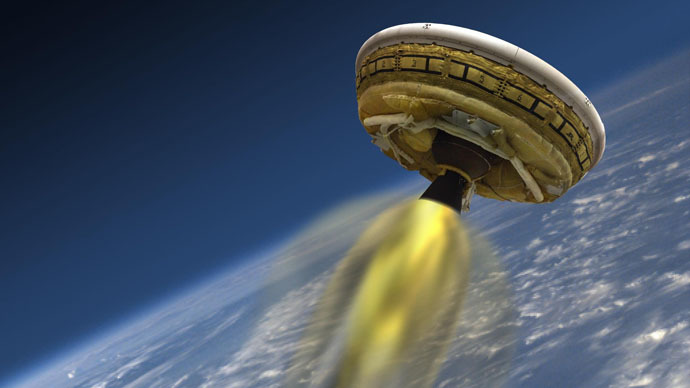 NASA testing 'flying saucer' Mars lander