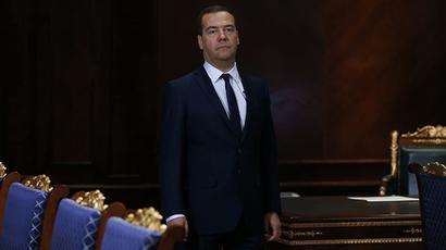 Russian Prime Minister Dmitry Medvedev (RIA Novosti / Dmitry Astakhov)