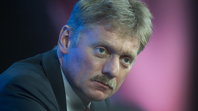 Presidential Press Secretary Dmitry Peskov (RIA Novosti / Sergey Guneev)