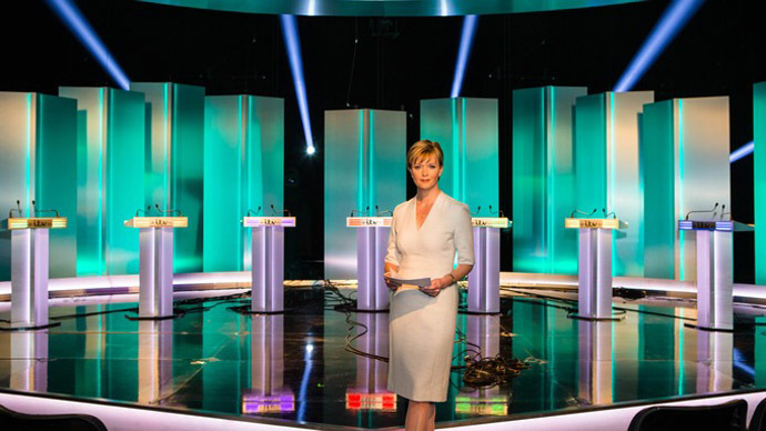 ITV News presenter Julie Etchingham will moderate the debate. (Credit: ITV)