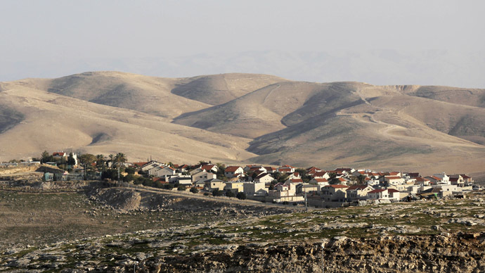 A general view of the West Bank Jewish settlement of Maale Adumim is seen near Jerusalem. (Reuters/Ammar Awad)