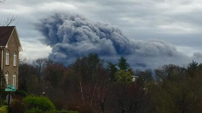 Massive fire raging at GE plant in Kentucky