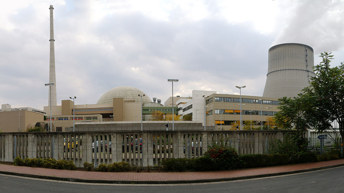 Emsland nuclear power plant (image from wikipedia.org)
