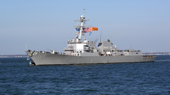 US Navy guided-missile destroyer enters Black Sea – reports
