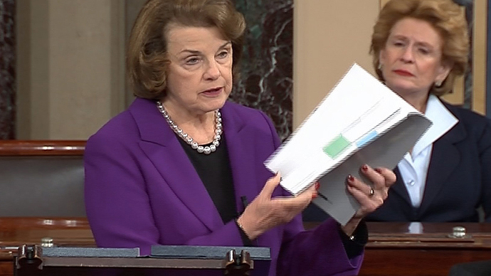Senate Intelligence Committee Chairwoman Dianne Feinstein (Reuters / Senate TV / Handout)