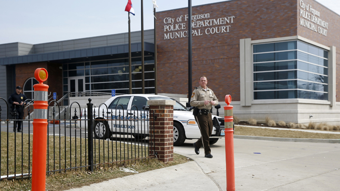 Ferguson Police Department in Ferguson, Missouri (Reuters / Jim Young)