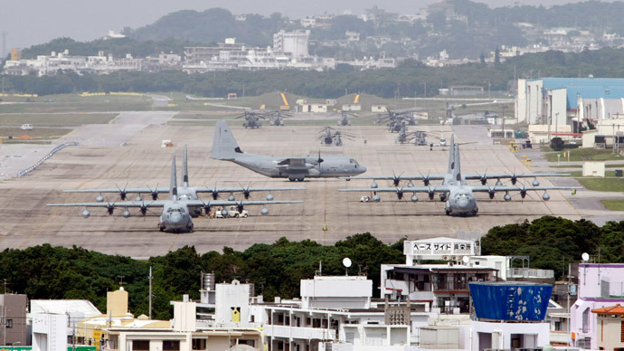 Tokyo begs Okinawa governor to okay planned US air base