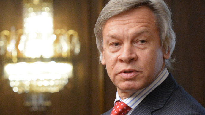 Chairman of the State Duma Committee on International Affairs Alexei Pushkov (RIA Novosti/Vladimir Fedorenko)