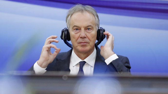 Former British Prime Minister Tony Blair (Reuters/Kham)
