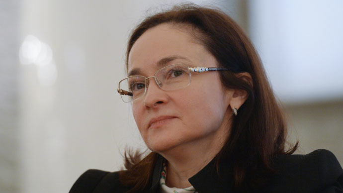 Elvira Nabiullina, Head of the Central Bank of Russia (RIA Novosti/Iliya Pitalev)