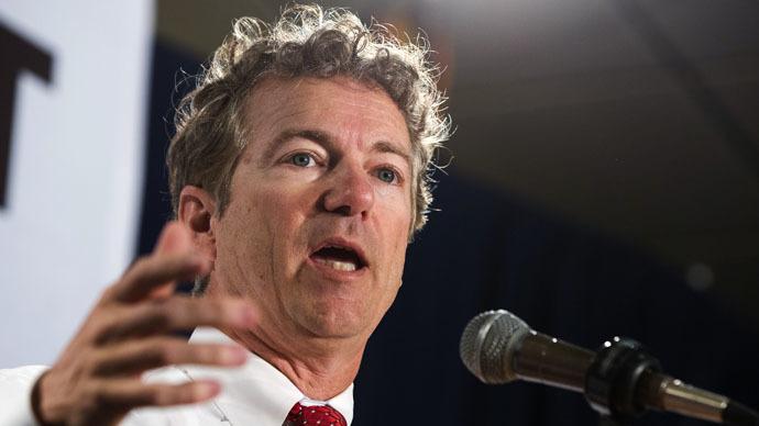 Senator Rand Paul (R-KY) (Reuters/Lucas Jackson)