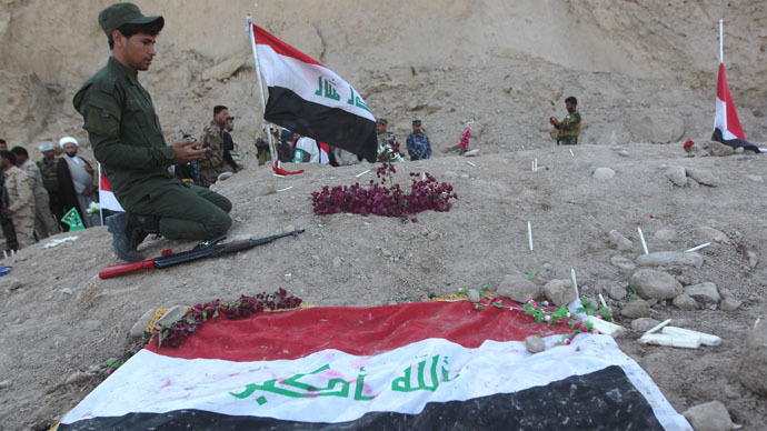 Tikrit mass grave may contain bodies of 1,700 Iraqi soldiers killed by ISIS