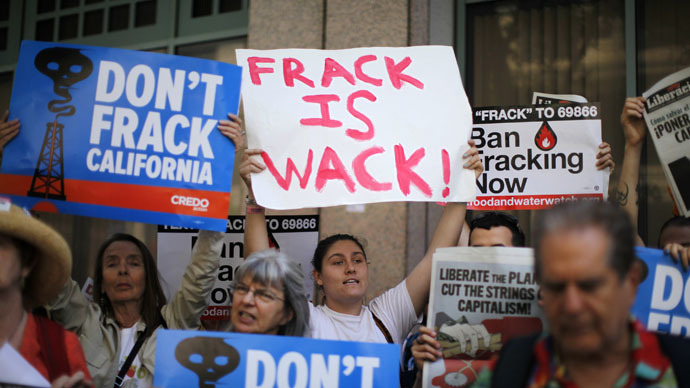 Drought-stricken California's fracking operations used 70 mn gallons of water last year