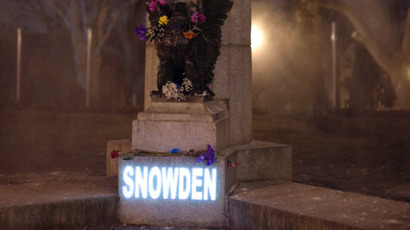 Statue at liberty: Martyred Snowden bust goes virtual overnight